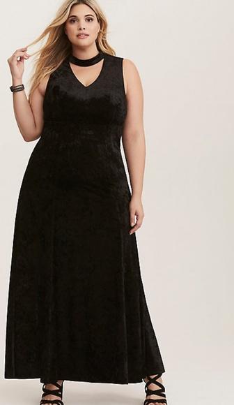 7d127f203bd Torrid black velvet Holiday gown dress 20  109 NWT.  M 5b47fefbbaebf6c3f084748e
